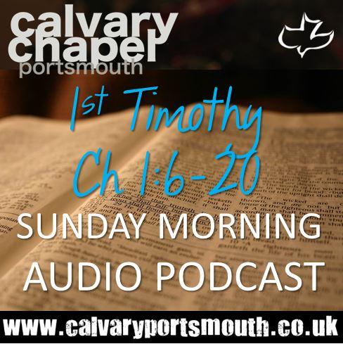 1 Timothy 1:6-20
