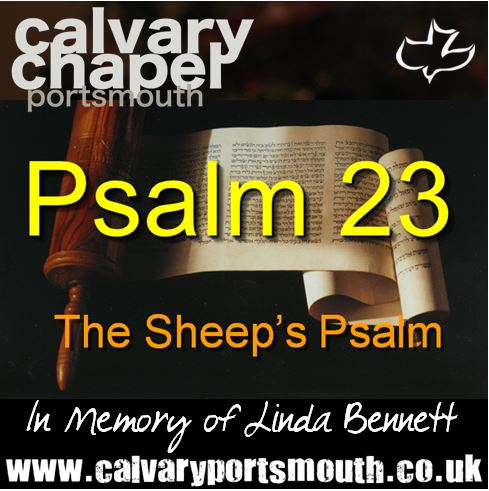 PSALM 23 The Sheep's Psalm