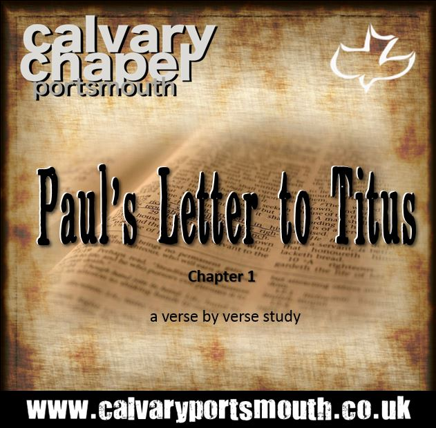 PAUL'S LETTER TO TITUS – CHAPTER 1