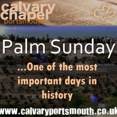 Palm Sunday – The Hour Has Come! (2021)